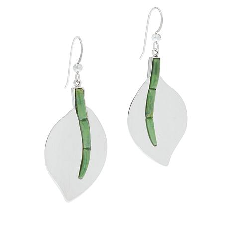 Jay King Gallery Collection Citron Verde Turquoise Earrings
