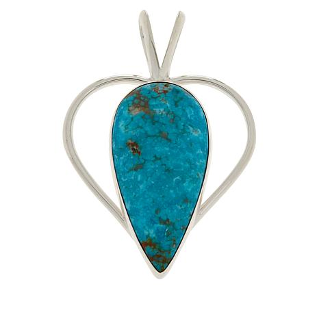 Jay King Gallery Collection Sonoran Turquoise Heart Pendant