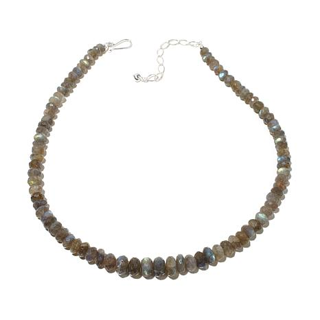 "Jay King Graduated Labradorite Bead 18-1/2"" Necklace"