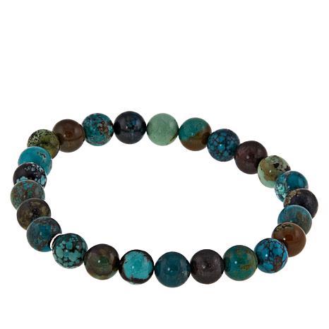 Jay King Hubei Turquoise Bead Stretch Bracelet