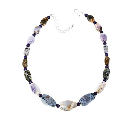 "Jay King Multicolored Multigemstone 18"" Necklace"