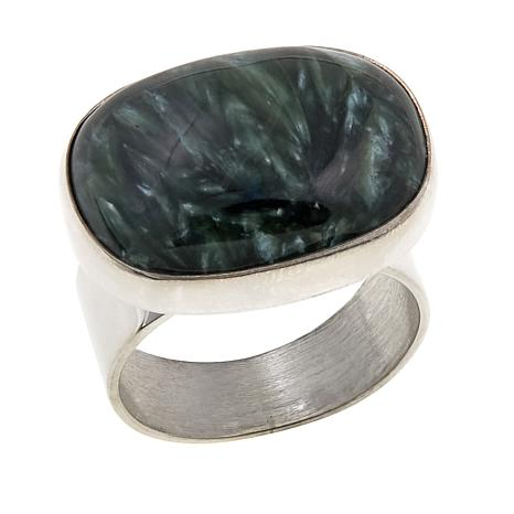 Jay King Seraphinite Sterling Silver Ring