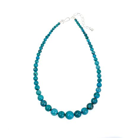 Jay King Seven Peaks Turquoise Graduated Bead Necklace