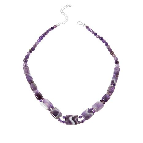 Jay King Sterling Silver Cape Amethyst Bead Necklace