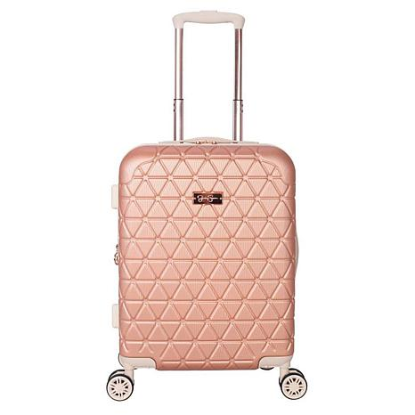 Jessica Simpson Dreamer 20-inch Hardside Luggage - Rose Gold