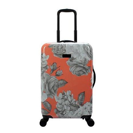 Jessica Simpson English Rose 20-inch Hardside Spinner in Coral