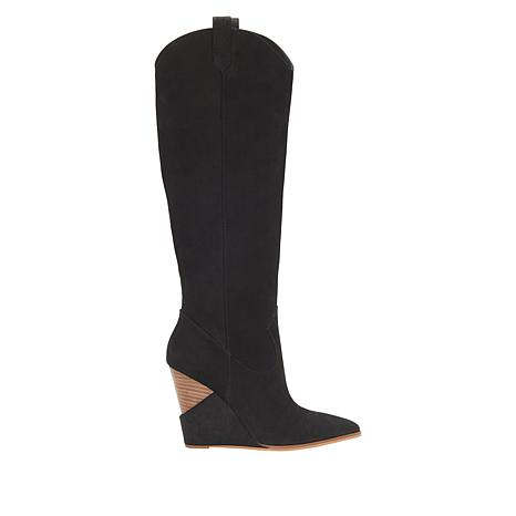 47a57c9d10a Tall Brown Wedge Boots - Best Picture Of Boot Imageco.Org