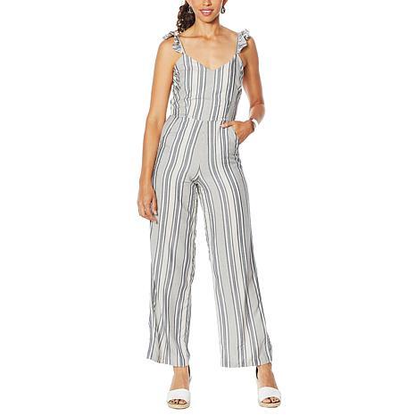 Jessica Simpson Printed Sleeveless Jumpsuit