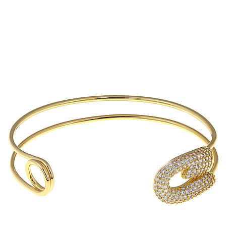 Jewels by Jen Safety Pin-Design Cuff Bracelet