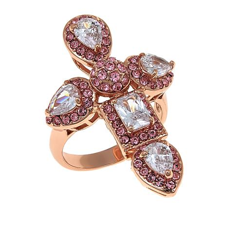 "Joan Boyce Carolyn's ""Always by Your Side"" Cross Station Ring"