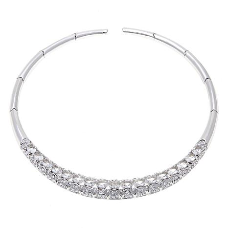 "Joan Boyce Larra's ""An Evening Out"" Clear Necklace"