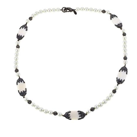 """Joan Boyce Lindsey's """"Dark and Sultry"""" Beaded Necklace"""