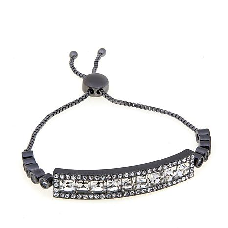 "Joan Boyce Lori's ""Raise the Bar"" CZ & Neutral Bracelet"