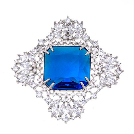 "Joan Boyce Mertyce's ""Double and Dramatic"" Pin/Pendant"