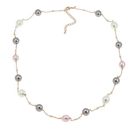 "Joan Boyce Serene's ""Beauty From the Sea"" Crystal 37-1/2"" Necklace"