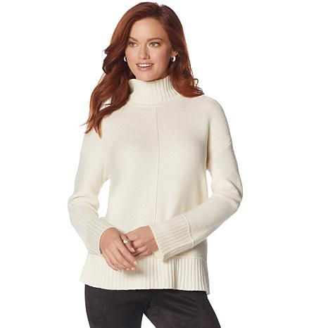 Jones NY Mix-Stitch Sweater - Plus