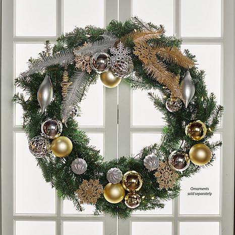 Prelit Christmas Wreath.Joy 36 Pre Lit Forever Fragrant Holiday Scented Christmas Wreath