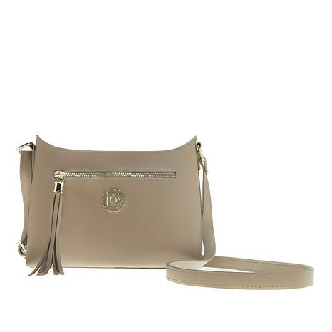 JOY E*Lite Couture Genuine Leather Crossbody with RFID