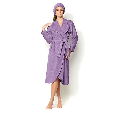 JOY Plush Robe True Perfection Bleach/Cosmetic-Resistant Set