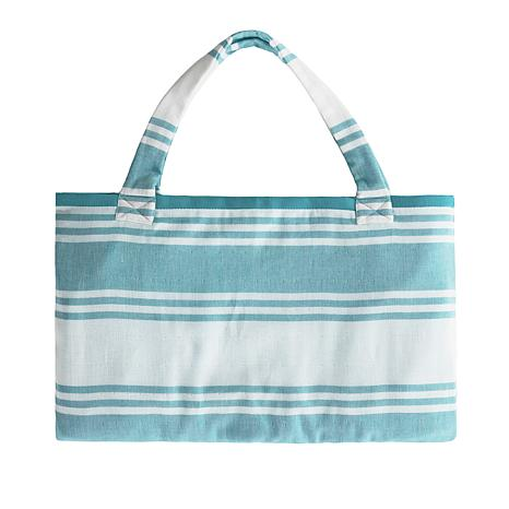 db4d7dc173 JOY Resort Chic Convertible 2-in-1 Tote to Beach Towel
