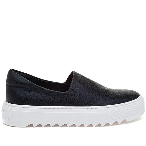 J/Slides NYC Sage Faux Leather Slip-On Sneaker