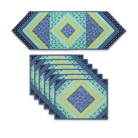 June Tailor Quilt As You Go Placemats And Tablerunner Set 1539231