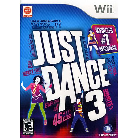 Just Dance 3 for the Nintendo Wii