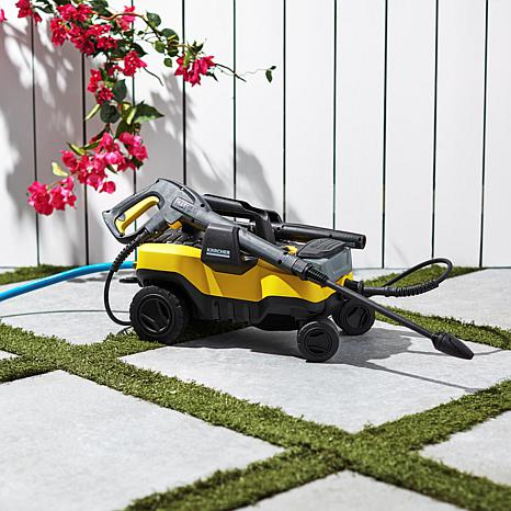 """Karcher """"Follow Me"""" 1800 PSI Pressure Washer with Accessories"""