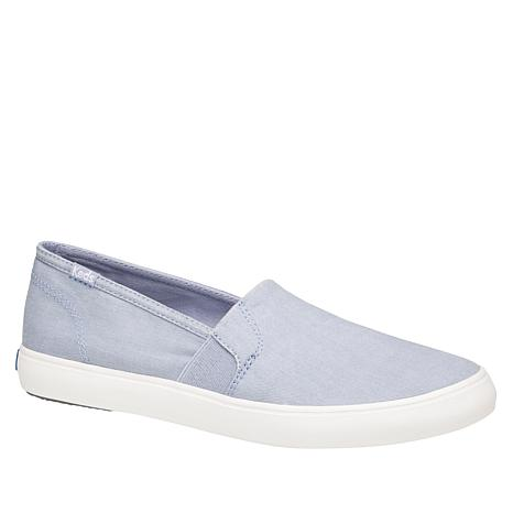 Keds Clipper Washed Solid Slip-On Sneaker