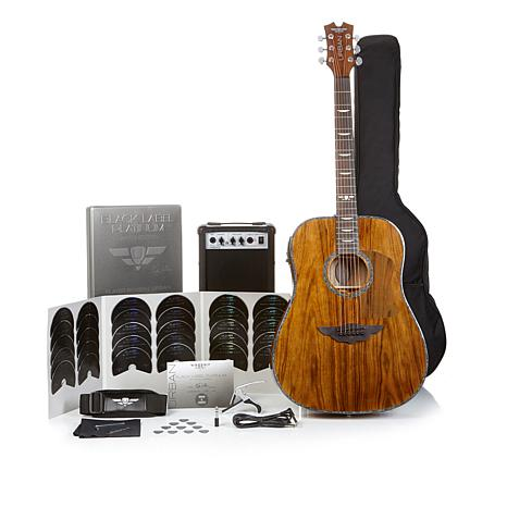 Keith Urban Black Label Platinum Limited Edition 50 Piece Guitar Package