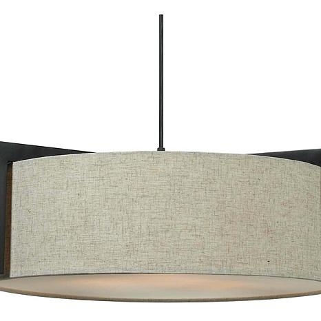Kenroy Home Teton 3-Light Pendant Fixture