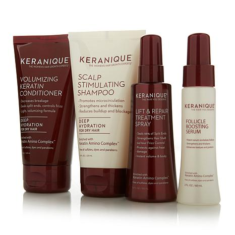 Keranique 30-Day Volumizing Kit with Deep Hydration AS