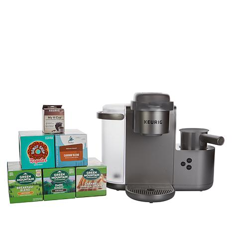 Keurig K-Cafe Coffee, Latte & Cappuccino Maker w/60 K-Cups & My K-Cup