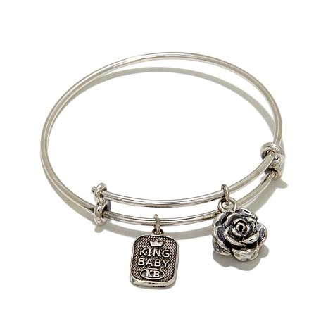 bangles d bracelet king baby jewelry silver sterling rose bangle charm products
