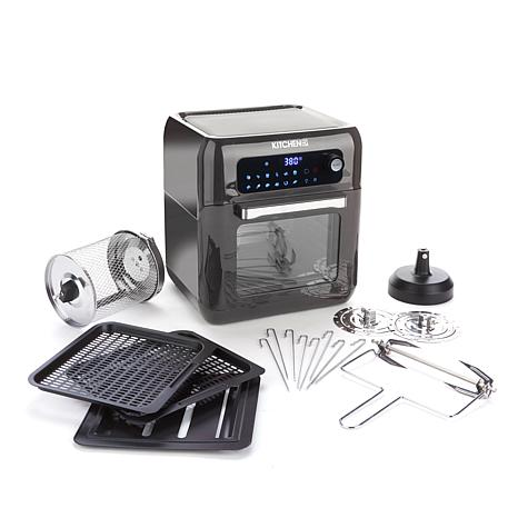 Kitchen HQ 10-Quart Air Fryer Oven with Rotisserie