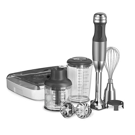 KitchenAid® 5-Speed Hand Blender with 4-Cup Blending Pitcher