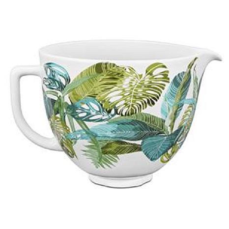 KitchenAid Ceramic Bowl 5Qt Blck Matte