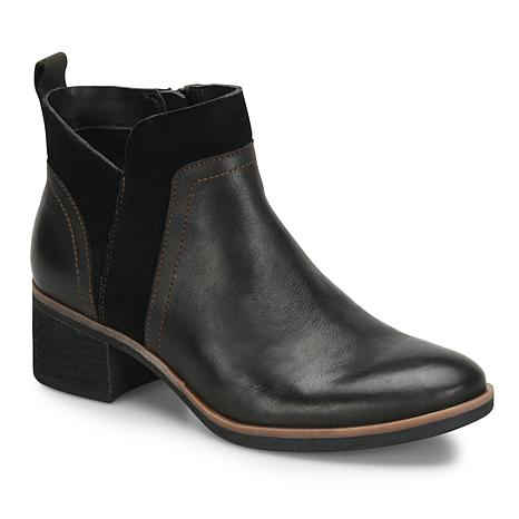 Korks Thyone Leather and Suede Bootie