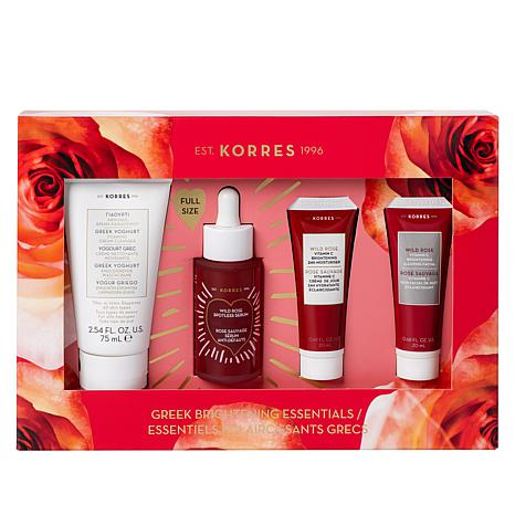 Korres 4-piece Greek Brightening Essentials Set