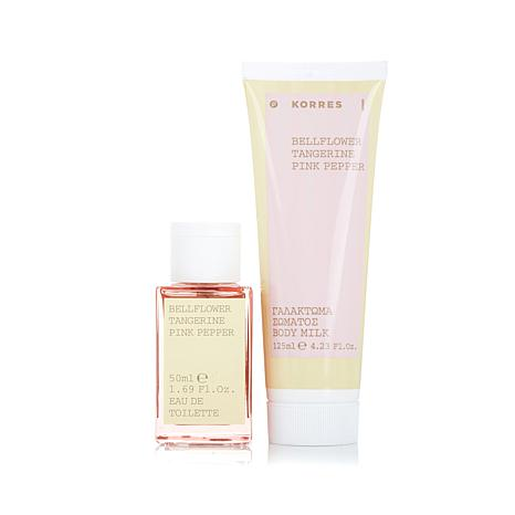 Korres Bellflower Tangerine Body Milk & Eau de Toilette