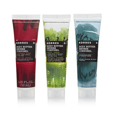 Korres Body Butter Travel Trio