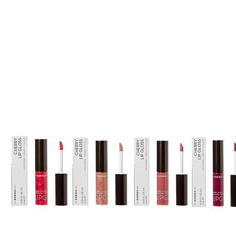Korres Cherry Oil Lip Gloss 4-piece Collection