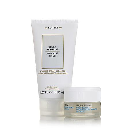 Korres Greek Yoghurt Cleanse and Facial Duo