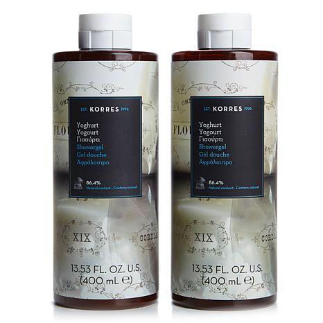 Korres Greek Yoghurt Shower Gel Duo