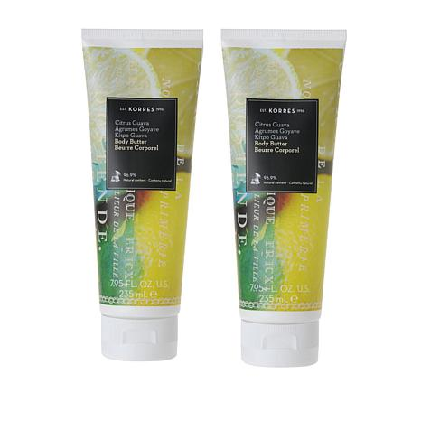 Korres Guava Citrus Body Butter Duo - 7.95 fl. oz.