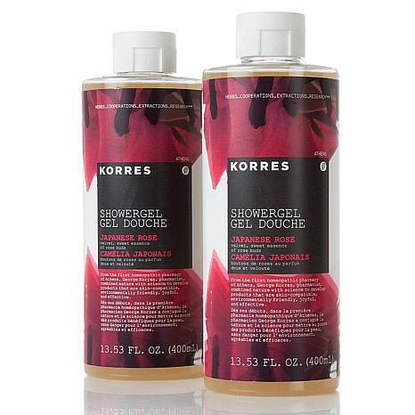 Korres Japanese Rose Shower Gel Duo