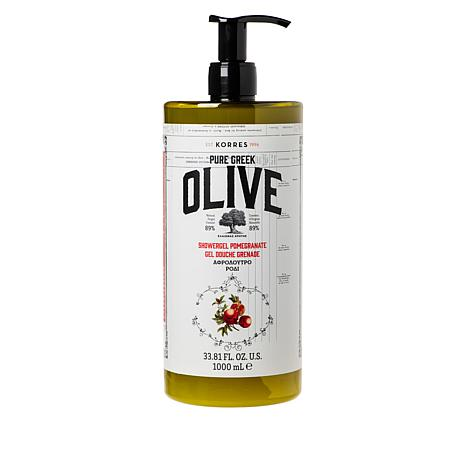 Korres Olive Oil & Pomegranate Mega Shower Gel