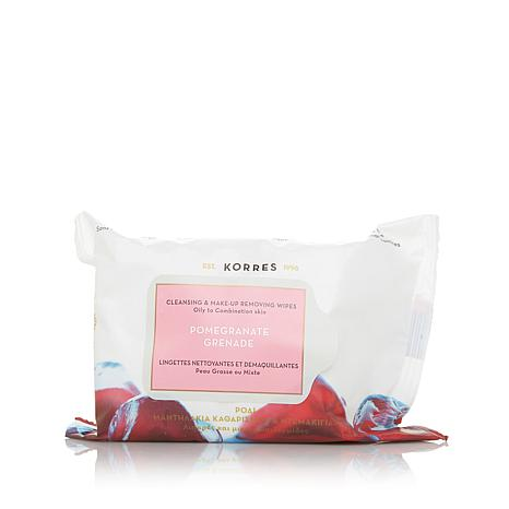 Korres Pomegranate Cleansing Wipes