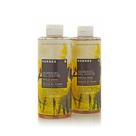 Korres Vanilla Guava Shower Gel Duo