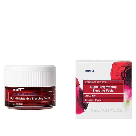 Korres Wild Rose Vitamin C Advanced Brightening Sleeping Facial